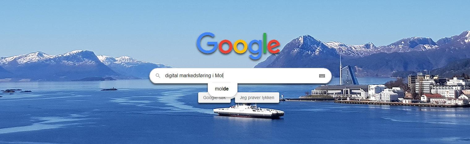 Lokal SEO Molde header
