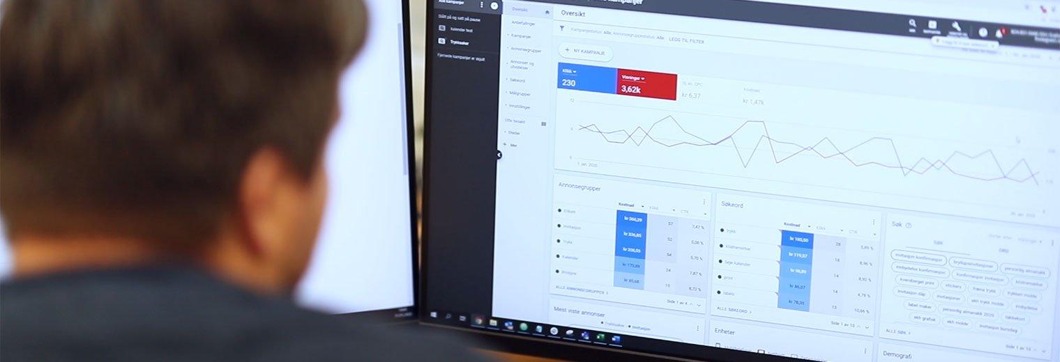 Digital markedsføring analyse