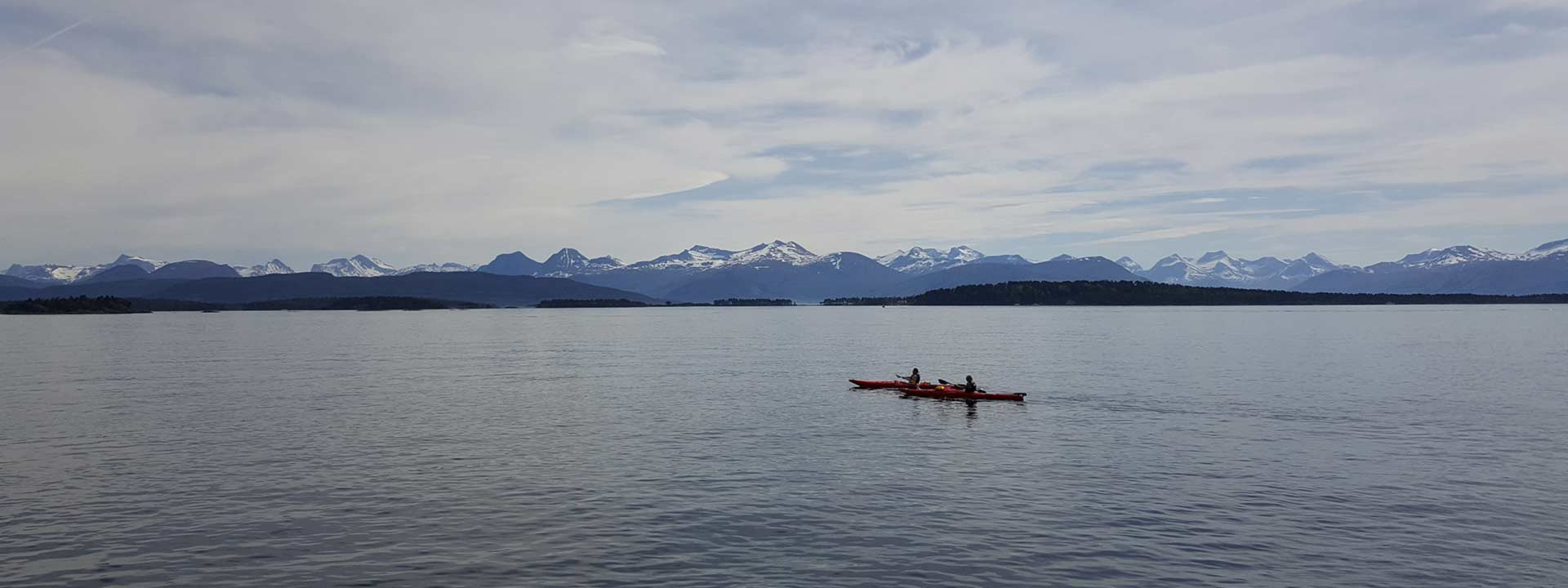 Kayak fjord norway - SEO header