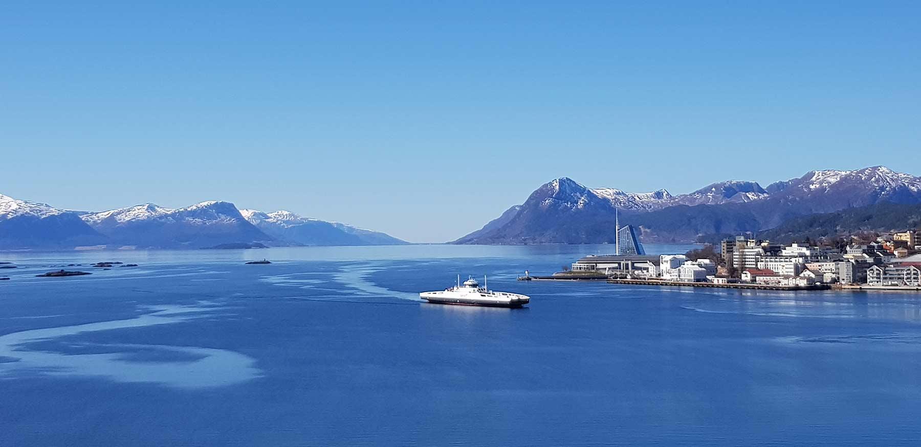 Molde by - utsikt
